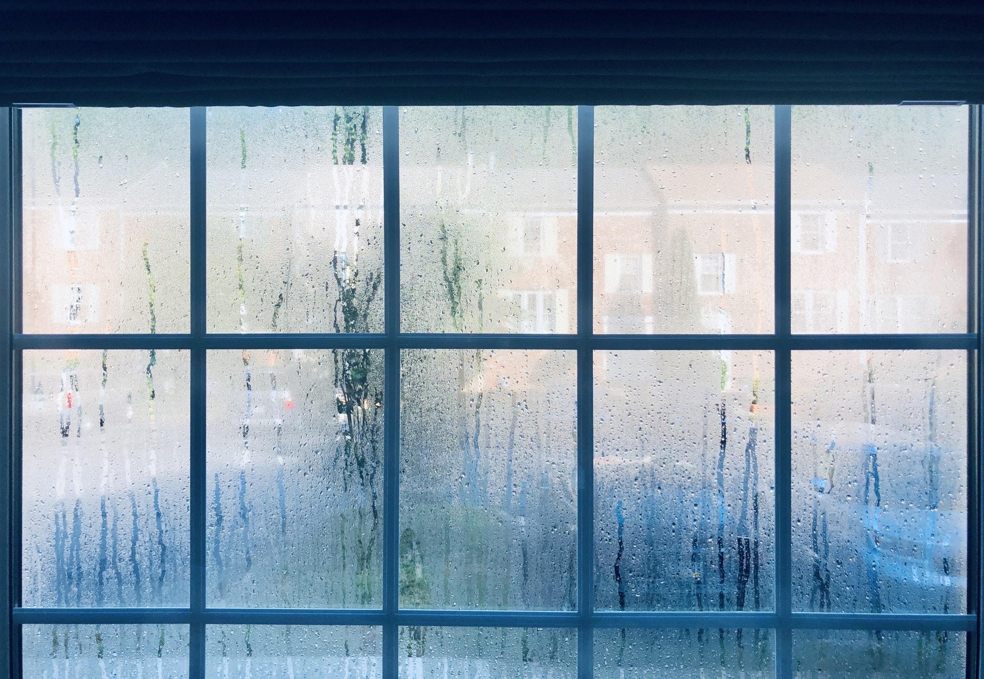 humidité, condensation sur les vitres